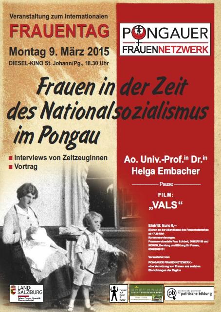 Plakat Frauentag 2015